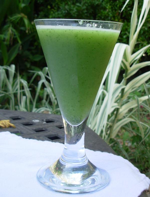 Cucumber Lime Mint Agua Fresca Recipe — Dishmaps